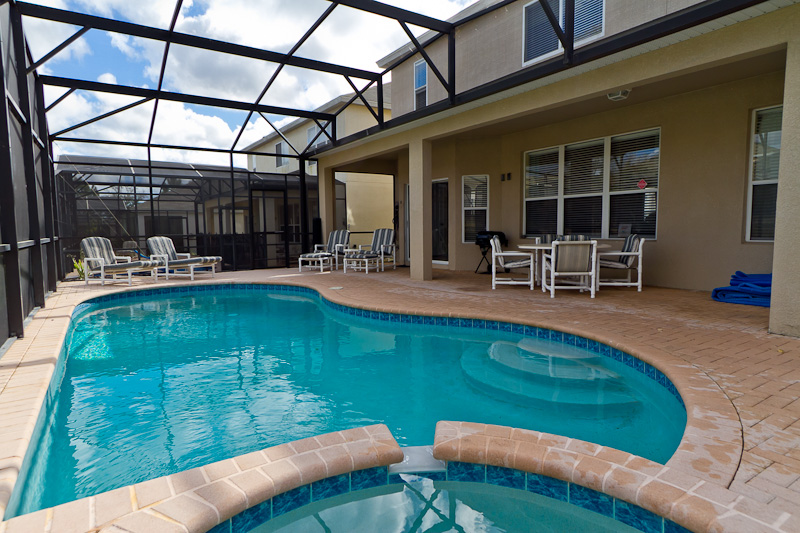Luxury 6 bedroom villa with pool spa and games room - Luxury 4 bedroom villas in orlando florida ...